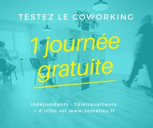Testez le coworking !