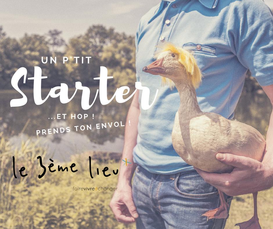 Starter, soutenir votre démarche de création d'entreprise